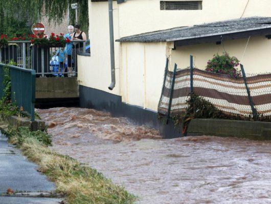 Überschwemmung in Mechernich
