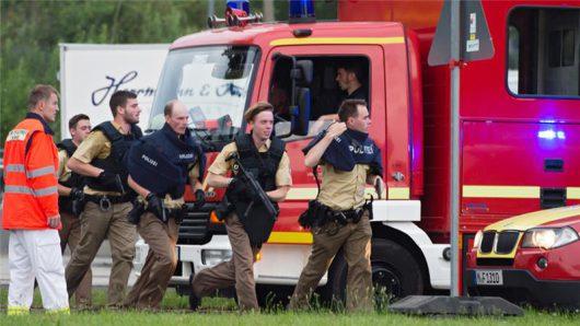 Niemcy - Strzały w Monachium