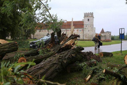 Ogromne ulewy przeszły nad Polską -3