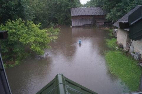 Ogromne ulewy przeszły nad Polską -4