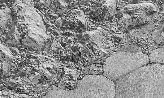 Pluton, różnorodność formacji terenu