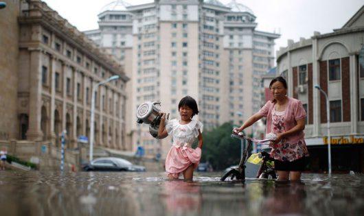 Powódź w Chinach 4