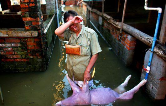 Powódź w Chinach 5