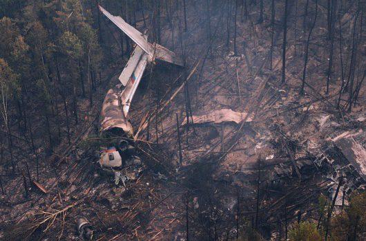 Rosja - Na Syberii rozbił się samolot gaszący las -3