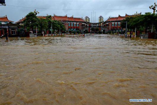 Tajfun Nepartak dotarł do Chin, ewakuowano ponad 422 tysiące osób -1