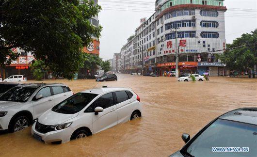 Tajfun Nepartak dotarł do Chin, ewakuowano ponad 422 tysiące osób -3