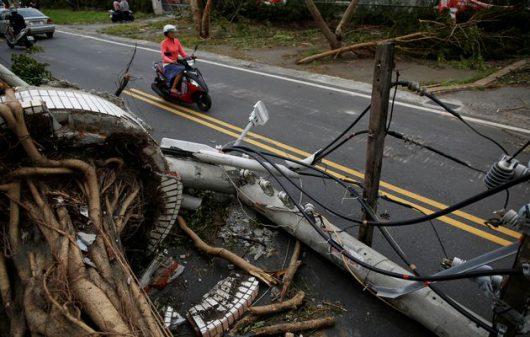 Tajfun Nepartak dotarł do Chin, ewakuowano ponad 422 tysiące osób -6