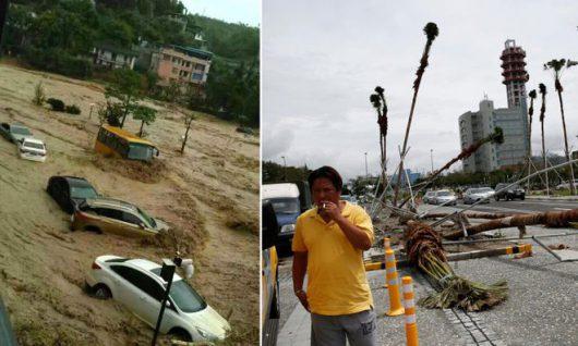 Tajfun Nepartak dotarł do Chin, ewakuowano ponad 422 tysiące osób -8