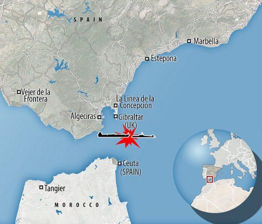 UK - W Cieśninie Gibraltarskiej atomowy okręt podwodny uderzył w tankowiec -6