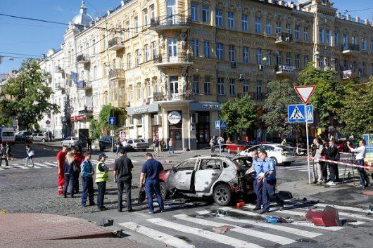 Ukraina - Zamach w Kijowie, zginął dziennikarz Paweł Szeremet -5