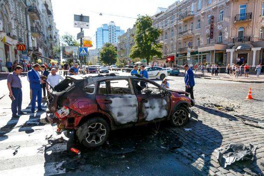 Ukraina - Zamach w Kijowie, zginął dziennikarz Paweł Szeremet -6