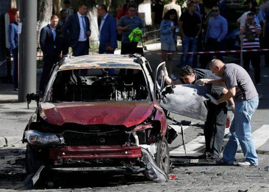 Ukraina - Zamach w Kijowie, zginął dziennikarz Paweł Szeremet -7