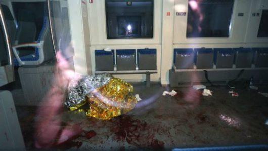 Würzburg, Niemcy - 17-letni Afgańczyk zaatakował w pociągu podróżnych siekierą i nożem, około 20 rannych -2