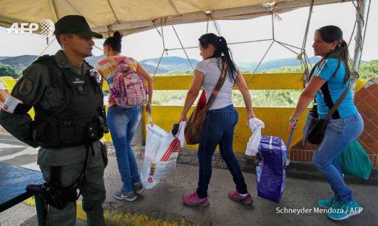 Wenezuela - Z powodu katastrofalnego kryzysu ekonomicznego władze Kolumbii otworzyły granicę 2