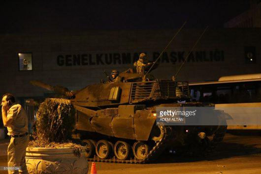 Zamach stanu - Turcja -2