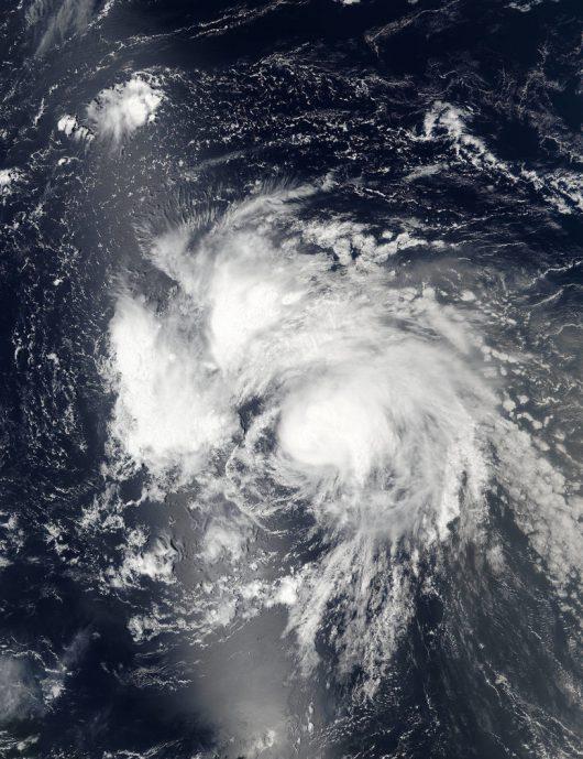 Atlantyk - Sztorm tropikalny Gaston przekształcił się w huragan