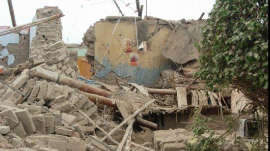 Chivay, Peru - Trzęsienie ziemi o sile 5.4, zawaliło się co najmniej 120 budynków -6