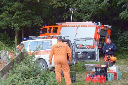 Degenfeld, Niemcy - Samolot zawisł na drzewie -5