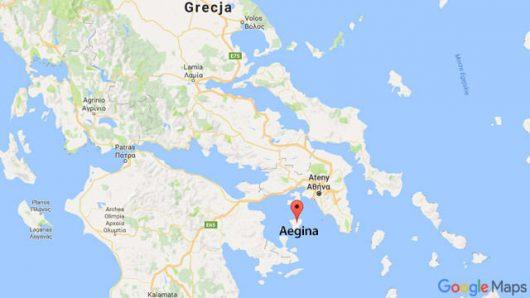 Do zderzenia doszło w okolicy wyspy Egina
