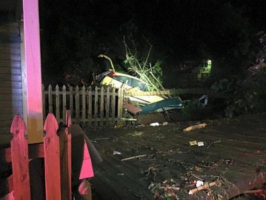 Ellicott City, USA - W ciągu zaledwie dwóch godzin ulewnego deszczu spadło 150 l_mkw -8