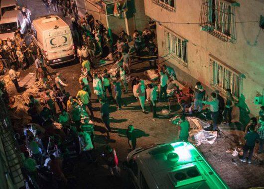 Gaziantep, Turcja - Zamachu bombowego na weselu dokonał nastolatek w wieku od 12 do 14 lat