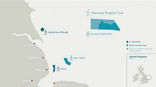 Hornsea 2 - mapa