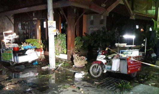 Hua Hin, Tajlandia - Dwie bomby eksplodowały w donicach -2