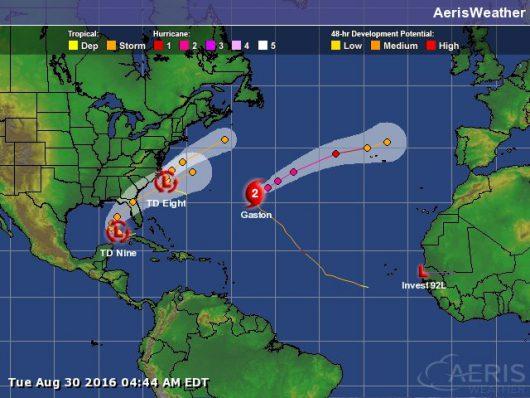 Huragany na Atlantyku 2