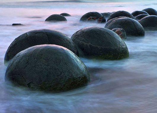 Kamienne sfery w Nowej Zelandii