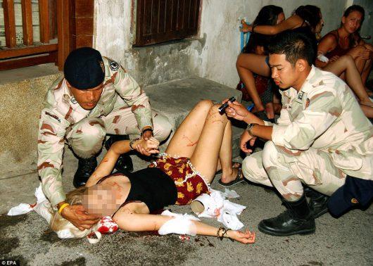 Kolejne eksplozje w Tajlandii, w Surat Thani wybuchły kolejne bomby -2