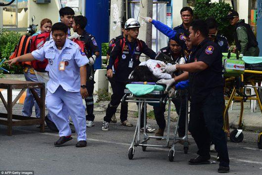 Kolejne eksplozje w Tajlandii, w Surat Thani wybuchły kolejne bomby -3