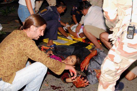 Kolejne eksplozje w Tajlandii, w Surat Thani wybuchły kolejne bomby -5