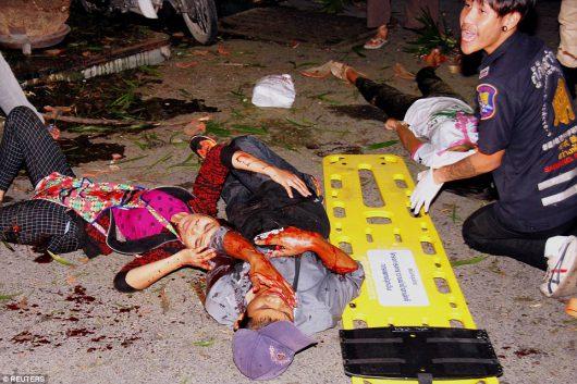 Kolejne eksplozje w Tajlandii, w Surat Thani wybuchły kolejne bomby -6