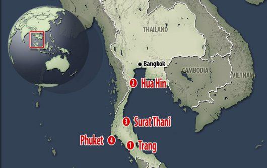 Kolejne eksplozje w Tajlandii, w Surat Thani wybuchły kolejne bomby -9