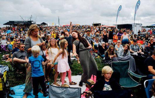 Koncert Wafande na Langeland Festival 2016