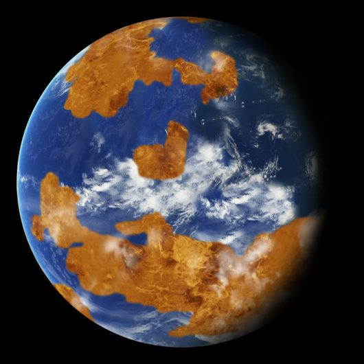 Na Wenus znajdował się kiedyś płytki ocean