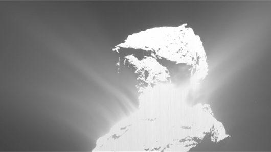 Na komecie 67P Czuriumow–Gierasimienko wystąpiło ciekawe zdarzenie, wyglądające jak wybuch