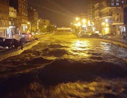 Pięć osób zginęło w powodzi w Jemenie -2
