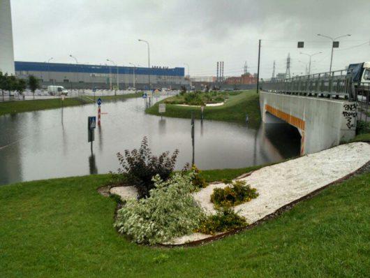 Rosja - Moskwa pod wodą, największa ulewa od 137 lat -3
