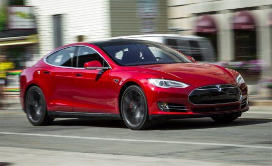 Samochód elektryczny Tesla Model S P100D -3