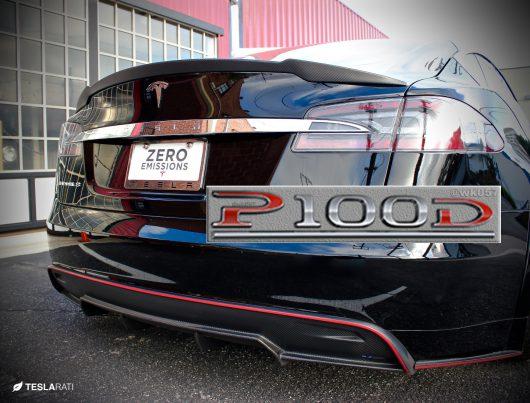 Samochód elektryczny Tesla Model S P100D