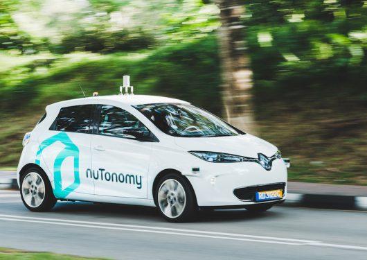 Singapur - Pierwsze na świecie autonomiczne taksówki wyjechały na drogi -2