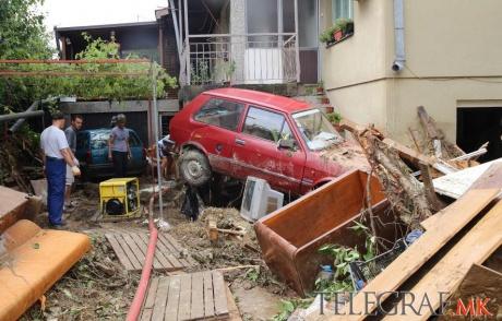 Skopje, Macedonia - Co najmniej 20 osób zginęło podczas nawałnicy -11