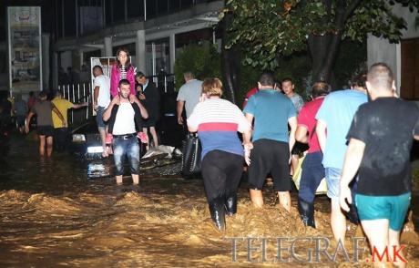 Skopje, Macedonia - Co najmniej 20 osób zginęło podczas nawałnicy -12