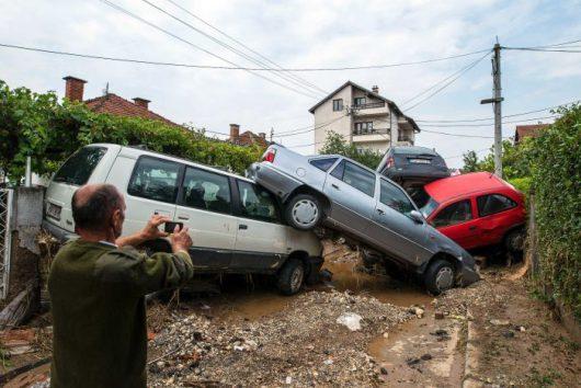 Skopje, Macedonia - Co najmniej 20 osób zginęło podczas nawałnicy -6