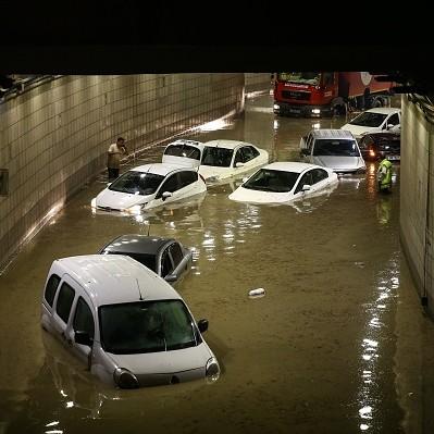 Turcja - Powódź błyskawiczna w Ankarze -1