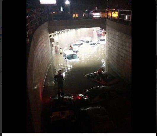 Turcja - Powódź błyskawiczna w Ankarze -3