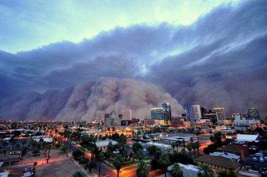 USA - Burza piaskowa przeszła przez Phoenix -2