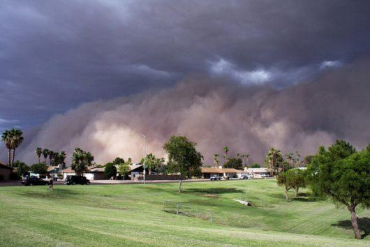 USA - Burza piaskowa przeszła przez Phoenix -3