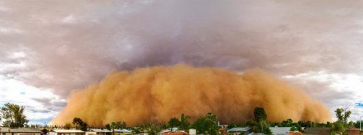USA - Burza piaskowa przeszła przez Phoenix -4